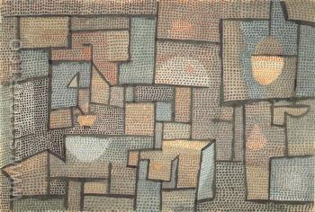 Room with Northen Exposure 1932 - Paul Klee reproduction oil painting