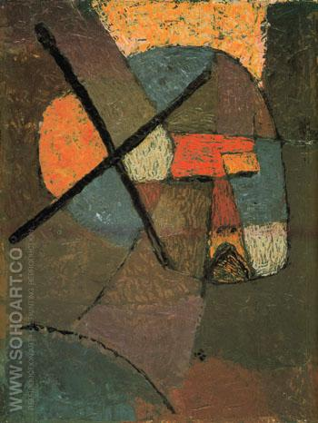 Struck From The Lists 1933 - Paul Klee reproduction oil painting