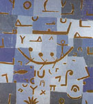 The Nile Legend 1937 - Paul Klee reproduction oil painting