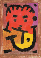 Musician 1937 - Paul Klee reproduction oil painting