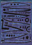 Heroic Strokes of the Bow 1938 - Paul Klee reproduction oil painting
