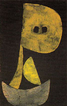 Severe Countenance 1939 - Paul Klee reproduction oil painting