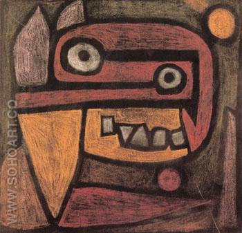 Untitled c 1940 - Paul Klee reproduction oil painting