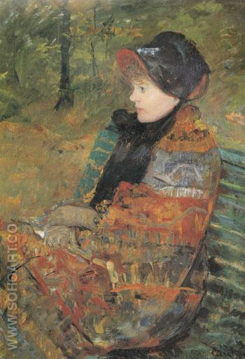 Autumm 1880 - Mary Cassatt reproduction oil painting