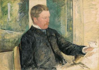 Portrait of Alexander J Cassatt 1880 - Mary Cassatt reproduction oil painting