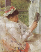Woman reading Lydia Cassatt 1878 - Mary Cassatt reproduction oil painting