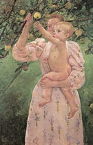Child Picking a Fruit 1893 - Mary Cassatt