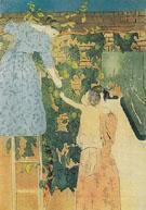 Gathering Fruit c1895 - Mary Cassatt