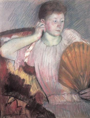 Contemplation 1891 - Mary Cassatt reproduction oil painting