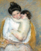 Mother and Child c1900 - Mary Cassatt