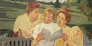 The Garden Lecture 1898 - Mary Cassatt reproduction oil painting
