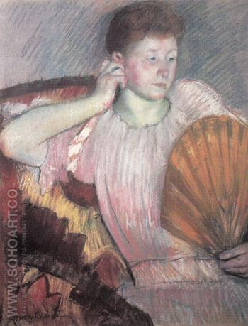 Contemplation 1891 - Mary Cassatt reproduction oil painting