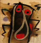 Untitled Date Unknown - Joan Miro reproduction oil painting