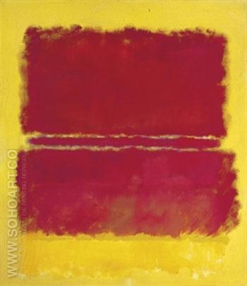 Number 15 1952 - Mark Rothko reproduction oil painting