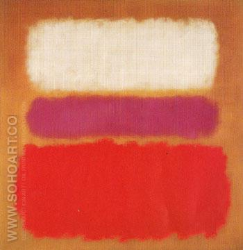 White Cloud over Purple 1957 - Mark Rothko reproduction oil painting