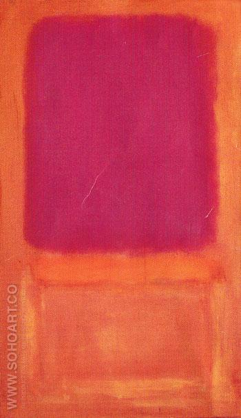 Violet Center 1955 - Mark Rothko reproduction oil painting