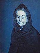 La Celestine Carlotta Valdivia 1903 - Pablo Picasso reproduction oil painting