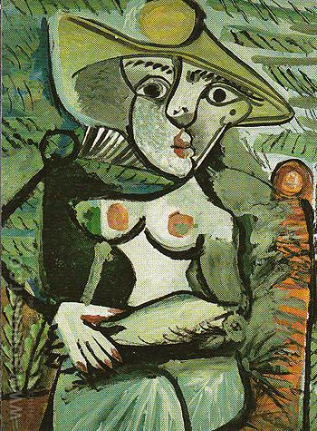 Portrait of Suzanne Bloch Opera Singer 1904 - Pablo Picasso reproduction oil painting