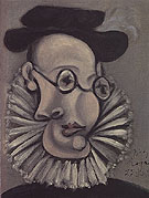 Portrait of Sabartes 1939 - Pablo Picasso reproduction oil painting