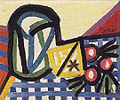 Glass and Fruit 1944 - Pablo Picasso reproduction oil painting