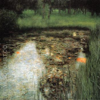 The Swamp 1900 - Gustav Klimt reproduction oil painting