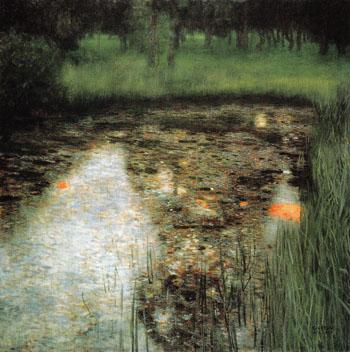 The Swamp 1900 - Gustav Klimt reproduction oil painting