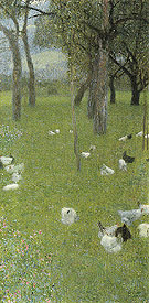 After the Rain 1898 - Gustav Klimt reproduction oil painting