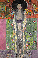 Portrait of Adele Bloch Bauer II 1912 - Gustav Klimt reproduction oil painting