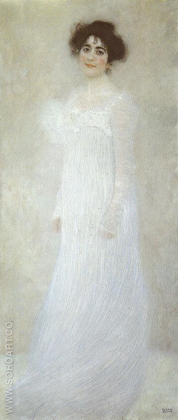 Portrait of Serena Lederer 1899 - Gustav Klimt reproduction oil painting