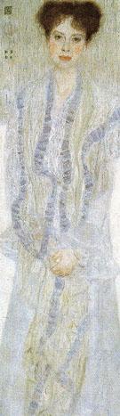 Portrait of Gertha Felsovanyi 1902 - Gustav Klimt