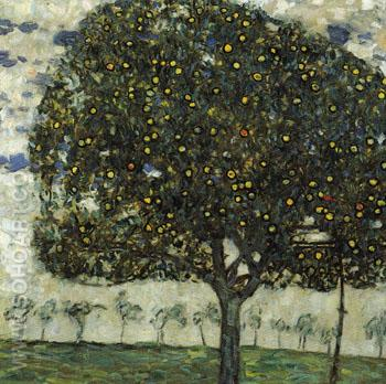 Apple Tree II 1916 - Gustav Klimt reproduction oil painting