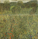 Garden Landscape 1907 - Gustav Klimt reproduction oil painting