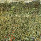 Garden Landscape 1907 - Gustav Klimt