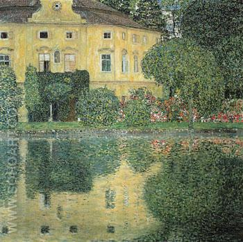 Schloss Kammer on the Attersee IV 1910 - Gustav Klimt reproduction oil painting
