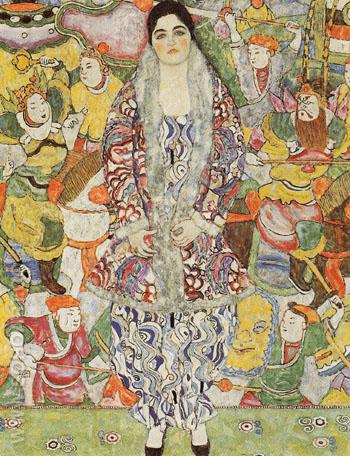 Portrait of Friederike Maria Beer 1916 - Gustav Klimt reproduction oil painting