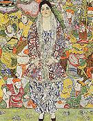 Portrait of Friederike Maria Beer 1916 - Gustav Klimt