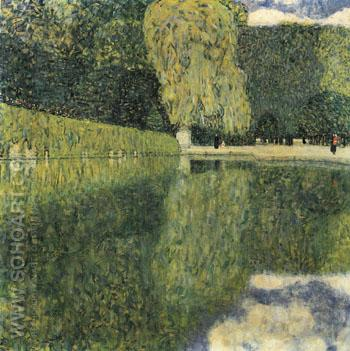 Schonbrunn Park 1916 - Gustav Klimt reproduction oil painting