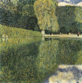 Schonbrunn Park 1916 - Gustav Klimt reproduction oil painting