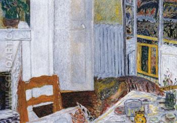 White Interior 1932 - Pierre Bonnard reproduction oil painting