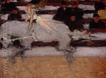 Circus Rider 1894 - Pierre Bonnard reproduction oil painting