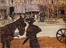The Cab Horse c1895 - Pierre Bonnard reproduction oil painting