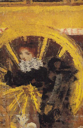 The Omnibus 1895 - Pierre Bonnard reproduction oil painting