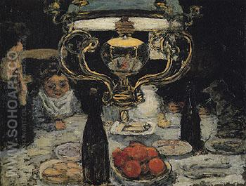 The Lamp c1899 - Pierre Bonnard reproduction oil painting