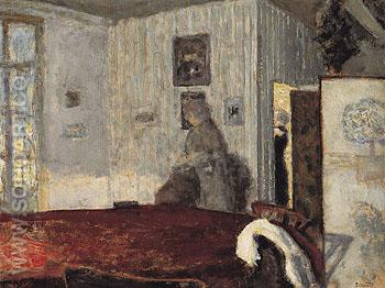 Interior with Screen c1906 - Pierre Bonnard reproduction oil painting