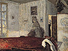 Interior with Screen c1906 - Pierre Bonnard