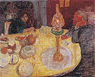 Evening by the Lamp 1921 - Pierre Bonnard