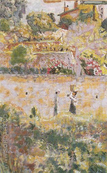 Grape Harvest 1926 - Pierre Bonnard reproduction oil painting