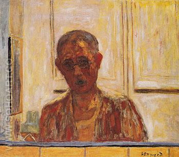 Self Portrait 1938 - Pierre Bonnard reproduction oil painting
