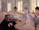 The Rehearsal c 1879 - Edgar Degas reproduction oil painting