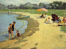 A Family Picnic - Edward Henry Potthast reproduction oil painting